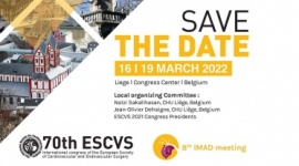 70th Congress of the European Society of Cardiovascular and Endovascular Surgery